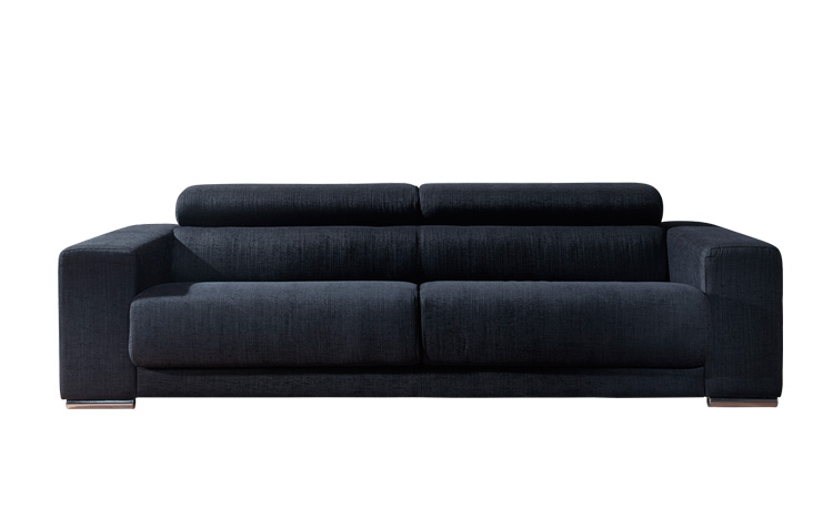 Sofa 3 plazas medida cm norman for Medidas sofa 3 plazas